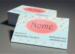 Cartão de Visita Couchê 300g Verniz Frente e Verso 9x5cm 4×4 – 1.000 un