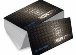 Cartão de Visita Couchê 300g Lam. Fosca Verniz Local 9x5cm 4×0 – 1000 un