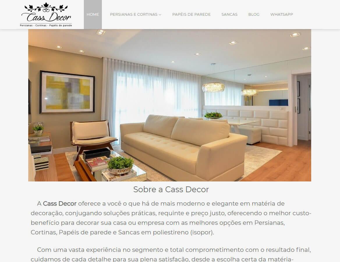 site-cassdecor.com.br
