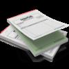 bloco papel autocopiativo